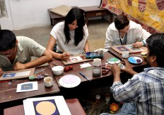Miniature Painting Art Lessons at School of Arts
